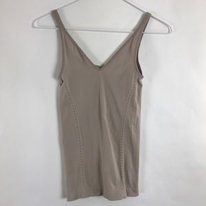 Spanx Slimming Tank Camisole Small Nude